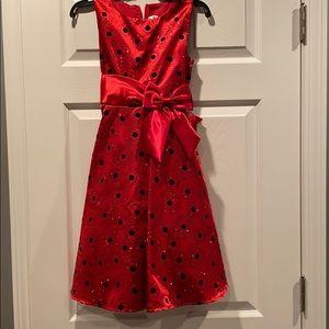 Beautiful girls holiday dress